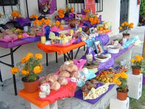 Day of the Dead ofrenda, Cozumel, Mexico - Erin J. Bernard