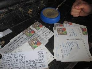 Postcards - Erin J. Bernard