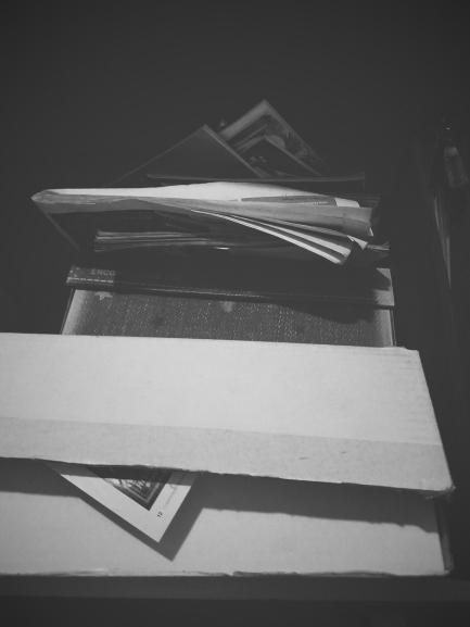 erin j bernard, terrible creative blog, ejb writing studio, newspaper clip, black and white print, clipping