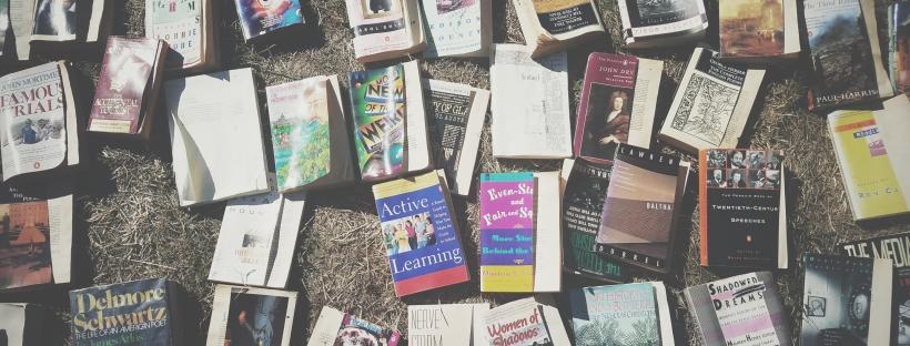 ejb writing studio, erin j bernard, old books, novels