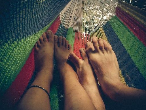hammock feet, erin j bernard, ejb writing studio